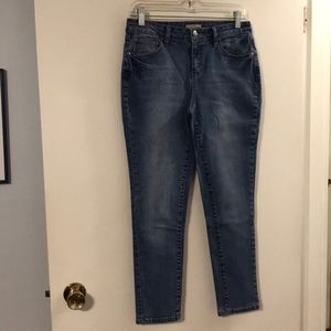 Earl skinny blue jeans